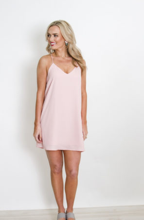 Light Pink Spaghetti Dress