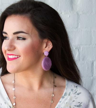Look Alive Earrings Pink