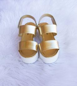 Lover Platform Wedge Gold1