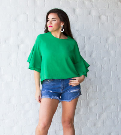 One Time Lime Top