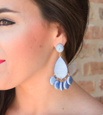 Pastel Love Earring Blue