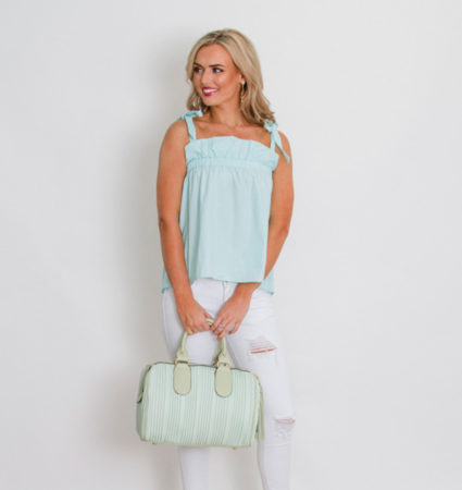 Ruffle Top with Ties3