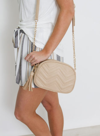 Tan Shoulder Purse